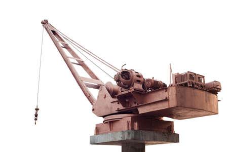 Power crane isolated on white background Stock Photo - 17209080