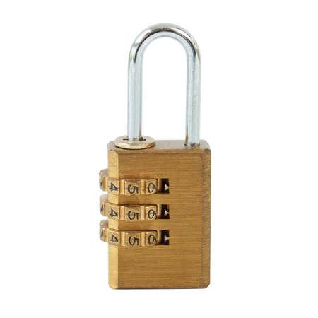 Combination padlock Stock Photo - 17209082