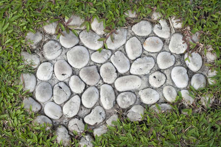 Close up of Stone Pathway photo