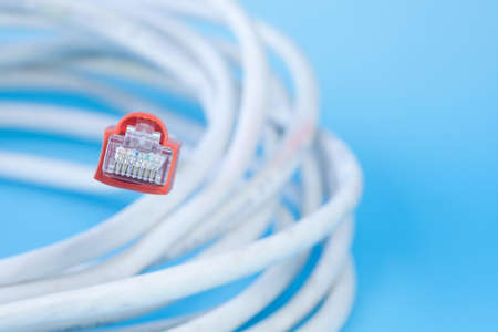 isdn: Network Cable Stock Photo