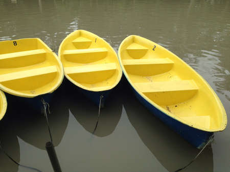 yellow boats: Yellow Boats