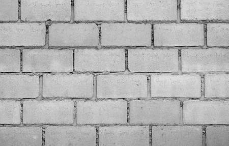 White Brick Wall Pattern photo