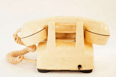 Vintage telephone photo