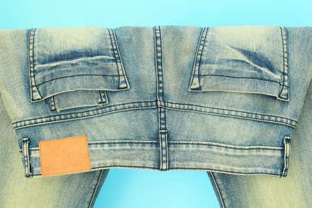 trouser: Blue jeans trouser