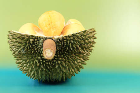 Close up of durian fruit