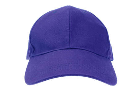 white  hat: Cap isolated on white Stock Photo