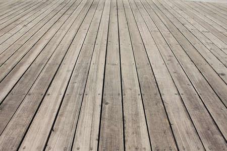 wood panel: Empty wooden floor background Stock Photo