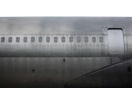 Detail of old aircraft Stock Photo