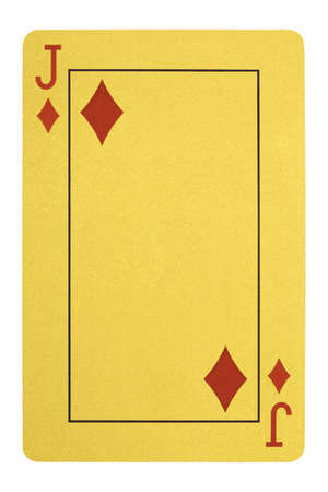 Golden playing cards, Jack of diamonds