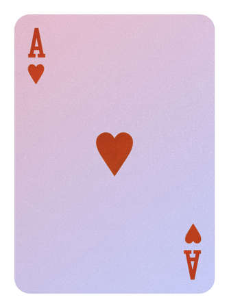 Playing cards, Ace of hearts