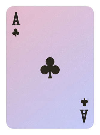 Playing cards, Ace of clubs