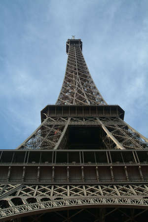 eiffel tower by blue sky Stock Photo - 630401