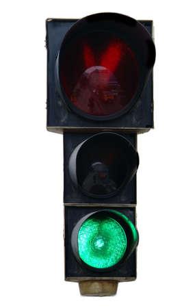 green traffic light Stock Photo - 630294