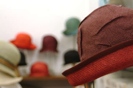 red hat in the shop