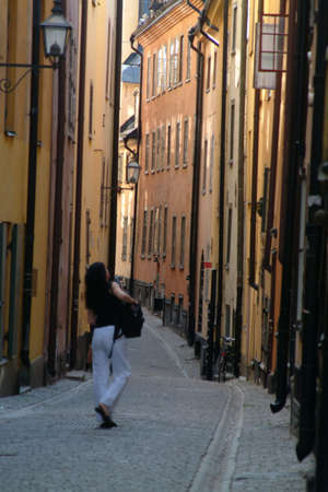 clinker tile: lane in old town quarter