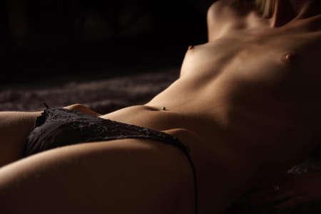 a cutout of a beautiful  and  woman body