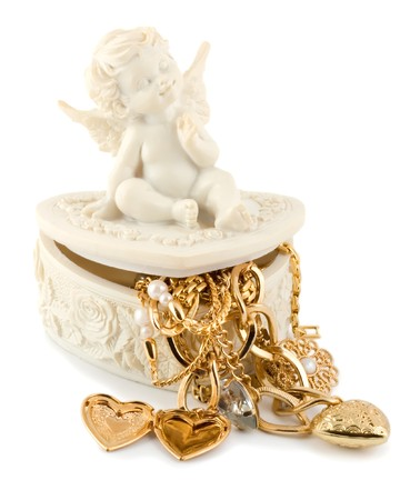 golden angel Stock Photo - 4597137