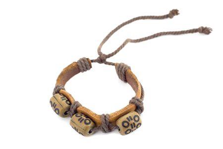 bracelet amulet isolated on white background