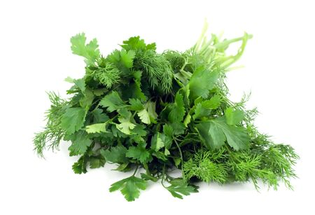 dill and parsley Stock Photo - 4597834