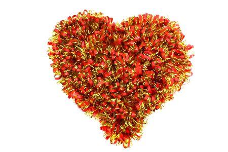 festoon: festoon formed heart Stock Photo