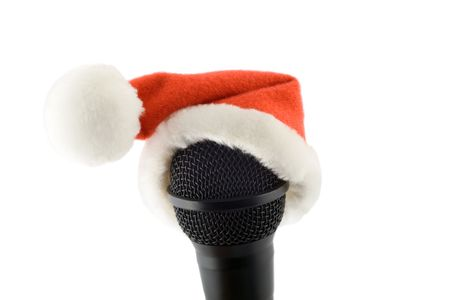 merry christmas microphone photo