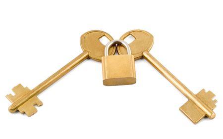 keys lock Stock Photo - 5081443