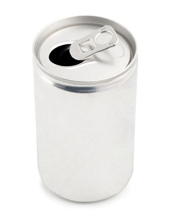 blank can for cola, drink, fizz, juice, soda, tonic,beer  Stock Photo