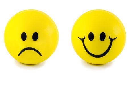 emotions face isolated on white background photo