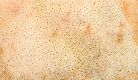 pigskin: pigskin background,textured pig leather macro
