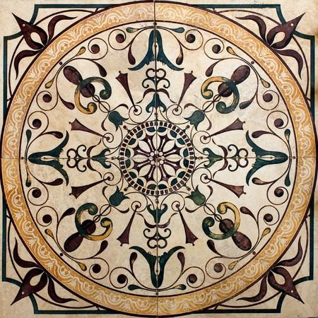 marmol: impresos antiguos victoriana de azulejos y baldosas