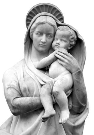 madona: Virgen con el ni�o Jes�s  Foto de archivo