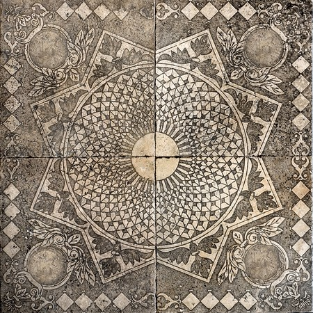 old tile ornamental vintage Stock Photo - 7894396