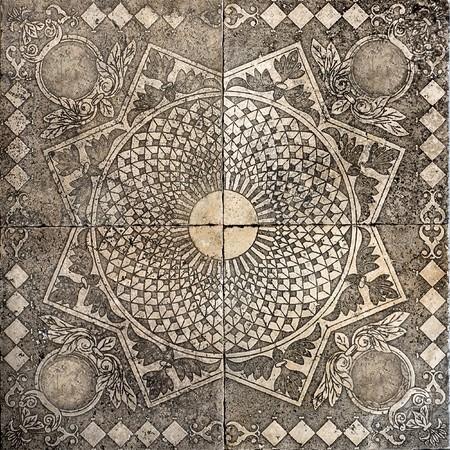 marble flooring: vecchia tessera ornamentali vintage