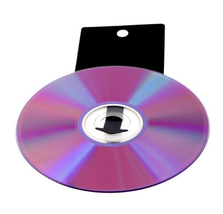 compact disk: compact disk arrow isolated