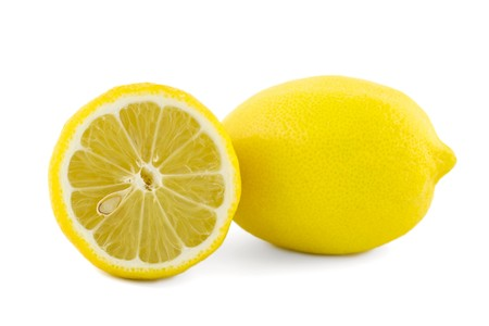 Lemon set isolated on a white background Stock Photo - 8034309