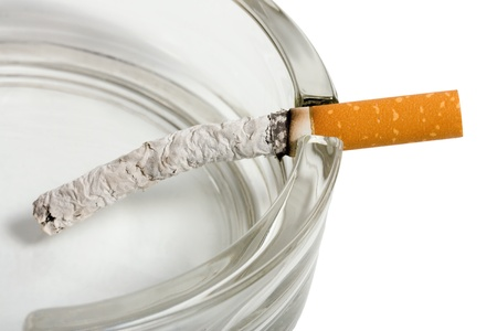 Ashtray and cigarettes close-up Stock Photo - 9520466
