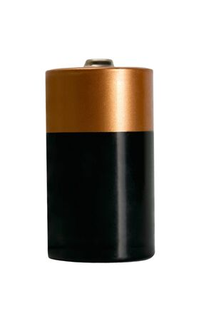 Battery object isolated  photo