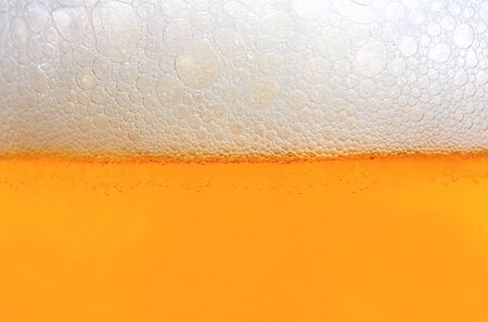 Beer foam background texture