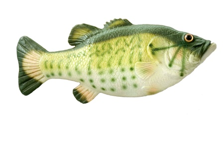 fish toy isolated on the white background Stock Photo - 12416570
