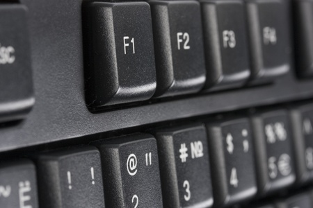 computer key Help concept background Stock Photo - 12416862