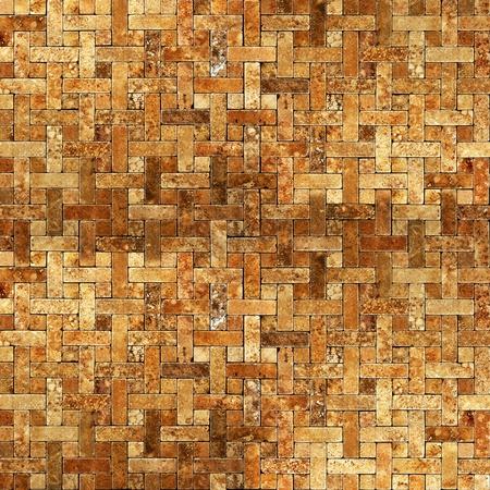 Mosaico de azulejos marco de fondo del grunge Foto de archivo - 12416883