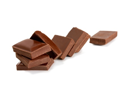chocolate snack isolated photo