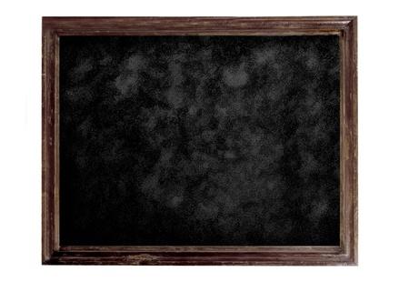 Old brown blank dirty blackboard Stock Photo - 12821751