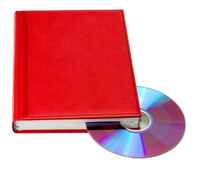 red book Cd isolated photo