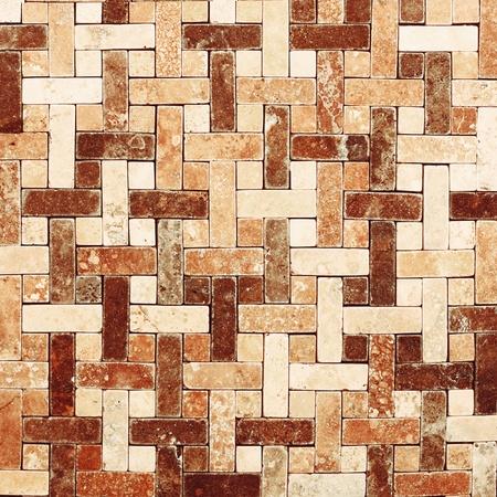Azulejo de mosaico de mármol textura de fondo Foto de archivo - 12822993