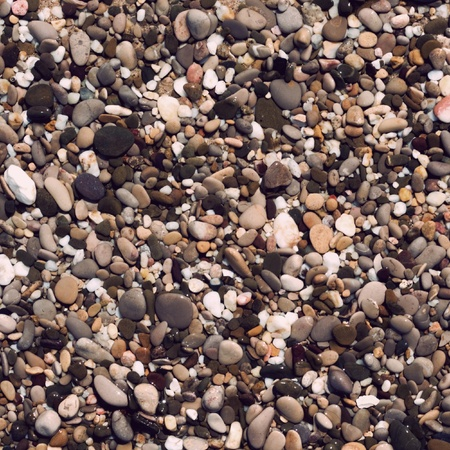 abstract background with round peeble stones photo