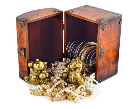 Treasure chest 免版税图像