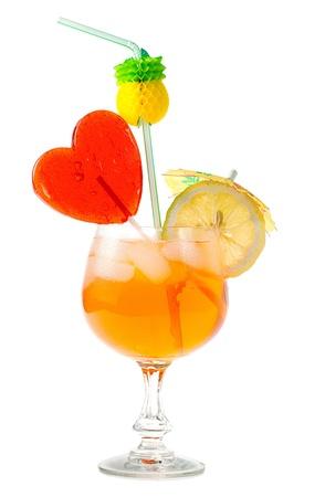 drink exotic isolated on white background Stock Photo - 13962713