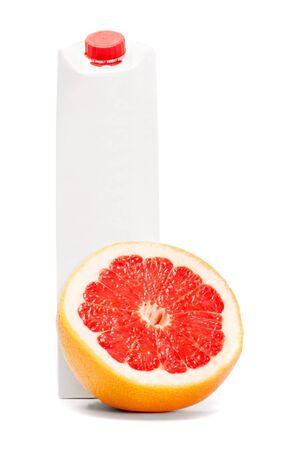 White blank juice orange box Stock Photo - 14000041