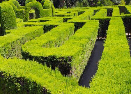 city conceptual park labyrinth Barcelona Stock Photo - 17087622